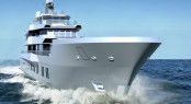 50m expedition yacht REACH concept by Ricardo Pilguj and Sven Faustmann