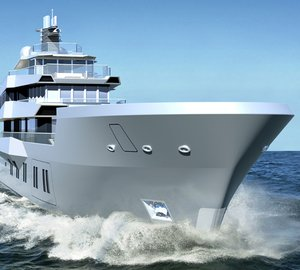 Ricardo Pilguj and Sven Faustmann designed 50m expedition yacht REACH concept