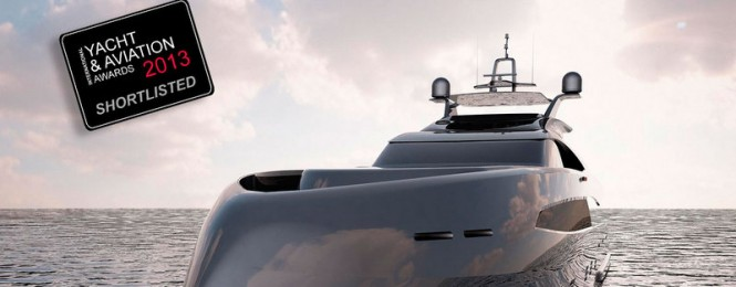53m superyacht ER175 concept by Erdevicki and ICON shortlisted for IYA Awards 2013