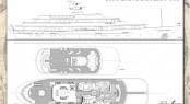 56m Rossinavi Canoe Stern Motor Yacht Concept - Layout