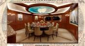 56m Rossinavi Canoe Stern superyacht - Dining