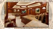 56m Rossinavi Canoe Stern superyacht - Master Stateroom