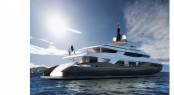 58m Baglietto displacement yacht project designed by Francesco Paszkowski