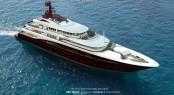 67m motor yacht Cbi 675 concept by Cbi Navi and Giorgio Vafiadis