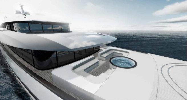 70m Quatrostile Luxury Yacht Concept