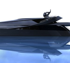 Scott Henderson designed 70m motor yacht MANTA concept