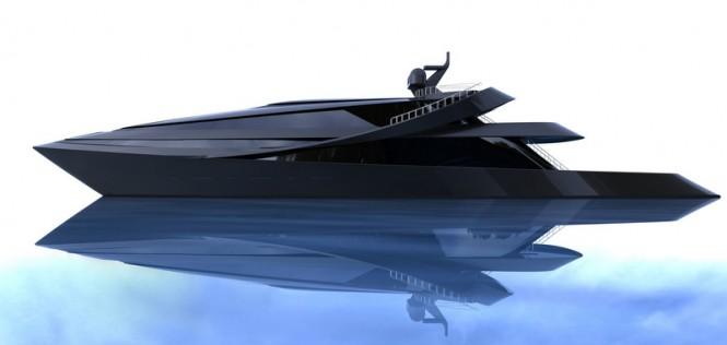 70m megayacht MANTA design by Scott Henderson