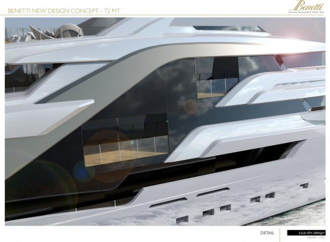 72m Luca Dini Megayacht Concept - Exterior
