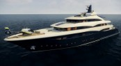 74m megayacht CRN 131 by CRN Yachts and Studio Zuccon