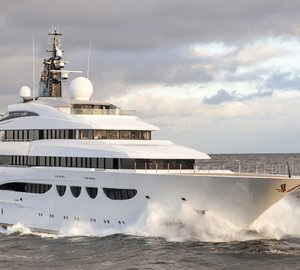 Superyacht QUATTROELLE by Lurssen completes sea trials