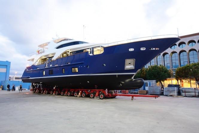 Benetti Delfino 93 ZAPHIRA yacht (BD005)