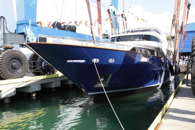 Benetti Delfino 93 superyacht ZAPHIRA (BD005)