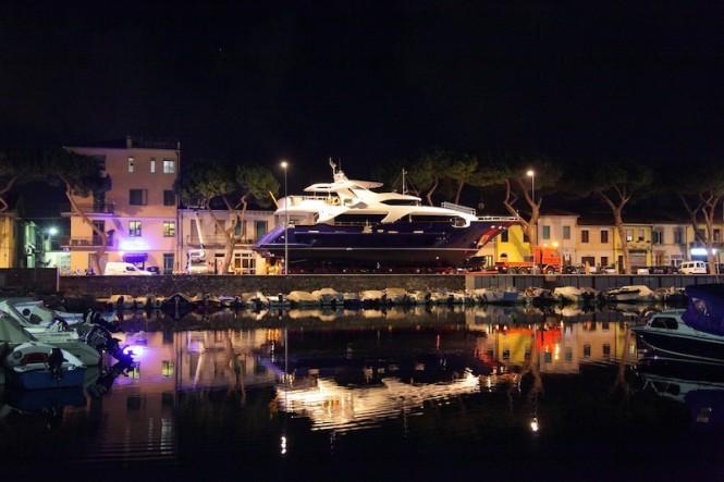 Benetti motor yacht ZAPHIRA