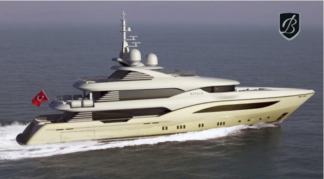 Bilgin 164 luxury yacht Alfulk