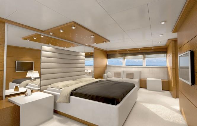 Bronko I superyacht - Master Cabin