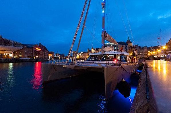 CARPE DIEM yacht - front view