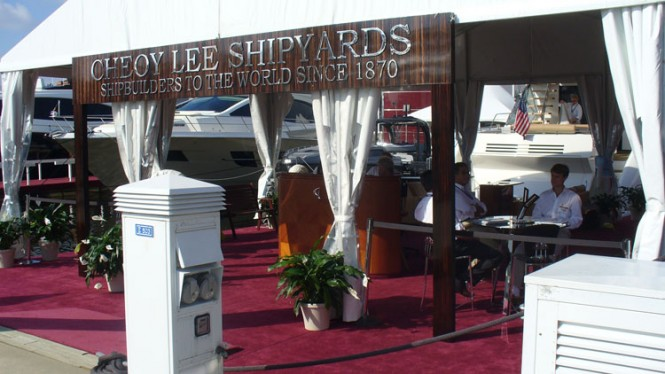 Cheoy Lee at the 2012 FLIBS