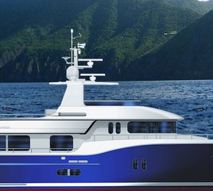 Motor yacht D85 by Dauntless Yachts
