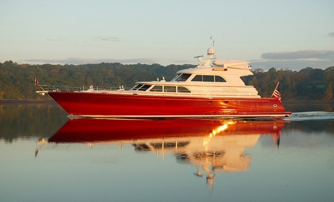 Excellence yacht - side view