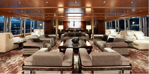 Feadship superyacht Musashi wins &#039;Best Interior at the ISS awards - Credit Feadship