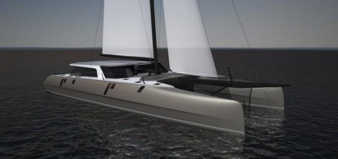 First luxury catamaran yacht Gunboat 78