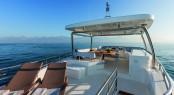 Flybridge - motor yacht Magellano 76