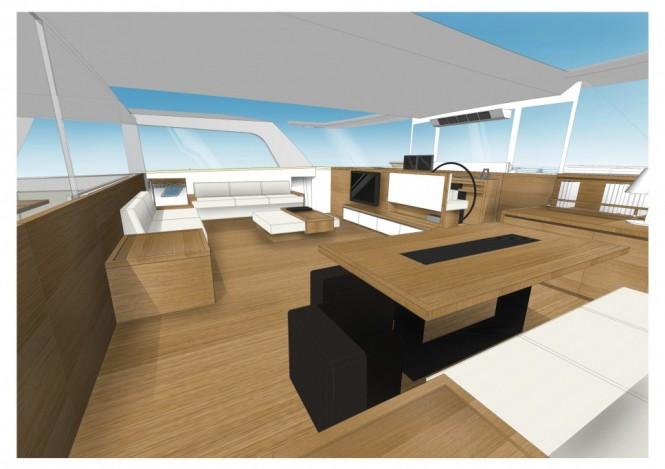 Gunboat 78 yacht - Interior