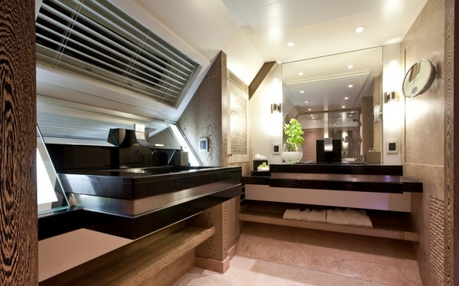 Hemisphere superyacht boasting blinds and light management solutions by Oceanair