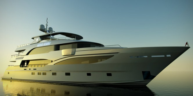 IAG 140 luxury yacht King Baby