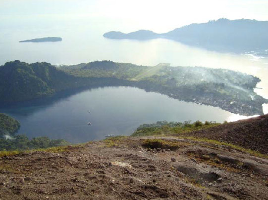 INDONESIA Banda from Spice Island Volcano