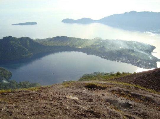 INDONESIA Banda from Spice Island Volcano