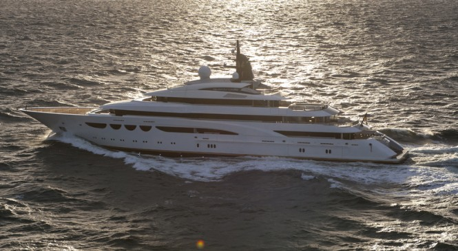 Lurssen luxury motor yacht Quattroelle (project Bellissimo) - Photo by Klaus Jordan