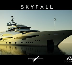Motor Yacht SKYFALL designed by Evan K Marshall for Benetti Design Innovation Projects