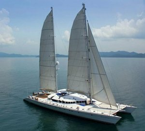 Spectacular and timeless charter catamaran DOUCE FRANCE by Alu Marine