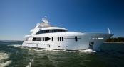 Luxury motor yacht Ocean Alexander 120 by Christensen Shipyards