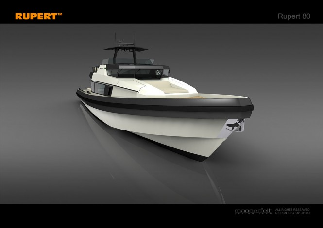 Luxury motor yacht Rupert 80 to feature Simrad marine electronics