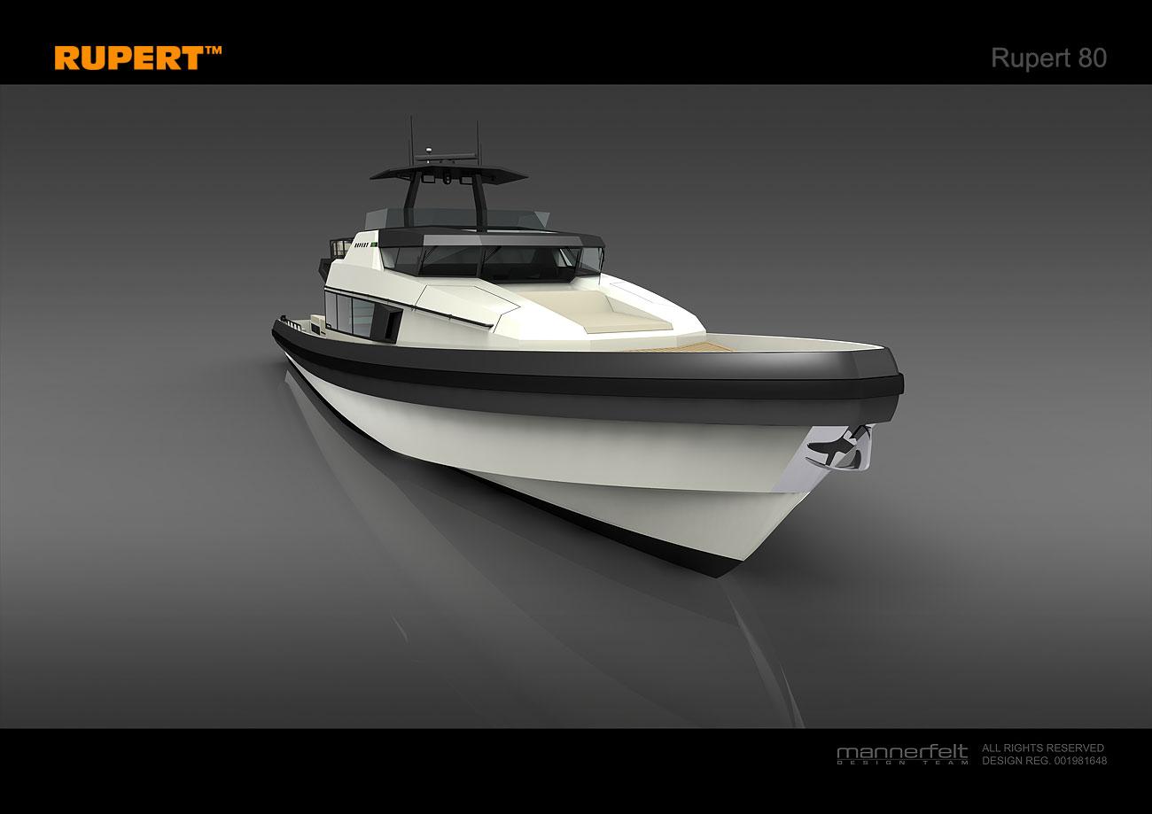 Luxury Motor Yacht Rupert 80 To Feature Simrad Marine