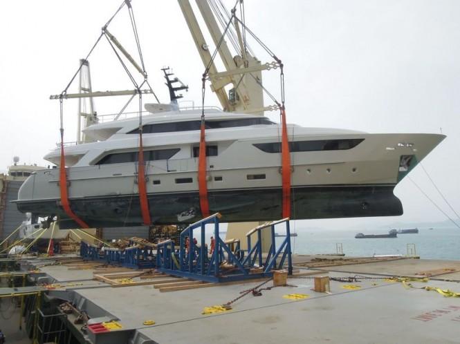 Luxury yacht Lady Cecilia - transfer