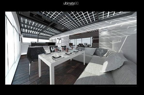 Luxury yacht Sunreef 90 Ultimate - Interior