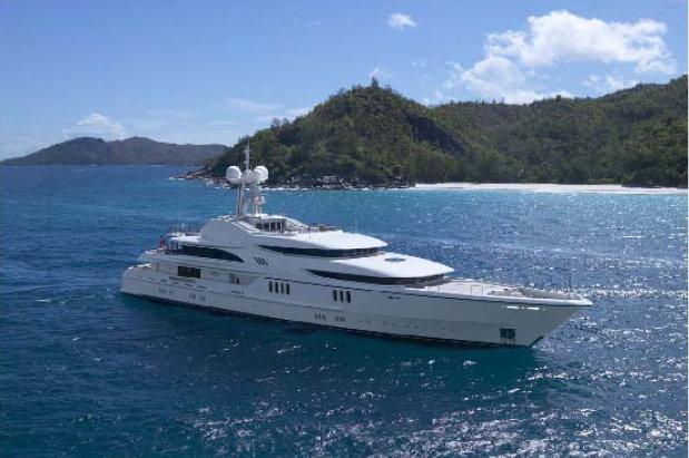 MALAYSIA Superyacht Anna cruising Malaysia waters