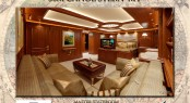 Master Stateroom aboard the 56m Rossinavi Canoe Stern yacht