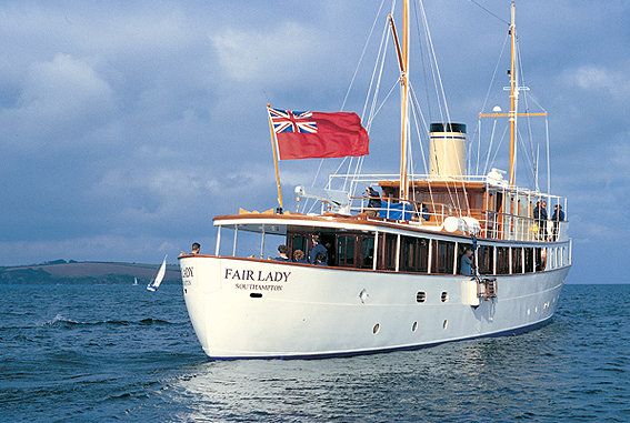 Motor yacht Fair Lady to be refitted by Pendennis Palma