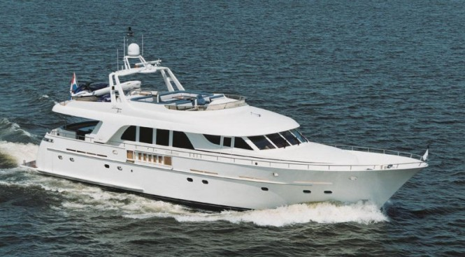 Mulder 82 Flybridge yacht