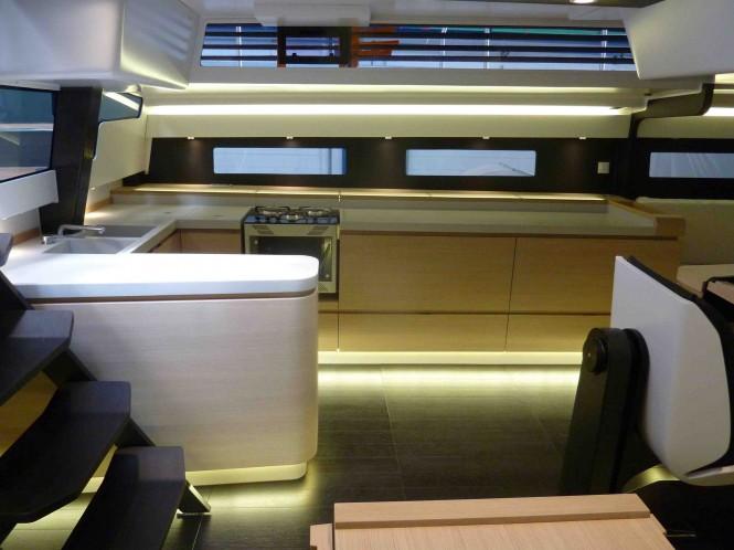 Nacira 67 yacht Shamlor - Interior