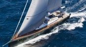 Maxi Dolphin Nacira 67' yacht Shamlor competing in the 2012 Giraglia Rolex Cup - Photo credit: Studio_Borlenghi/G. Trombetta