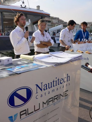 New group presented by Alu Marine and Nautitech at the 2012 Cannes Boat Show