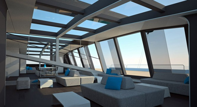 ONE FIFTY superyacht - Interior