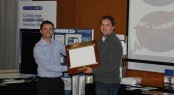 Oceanair award IMP with Distributor of the Year Award 2012