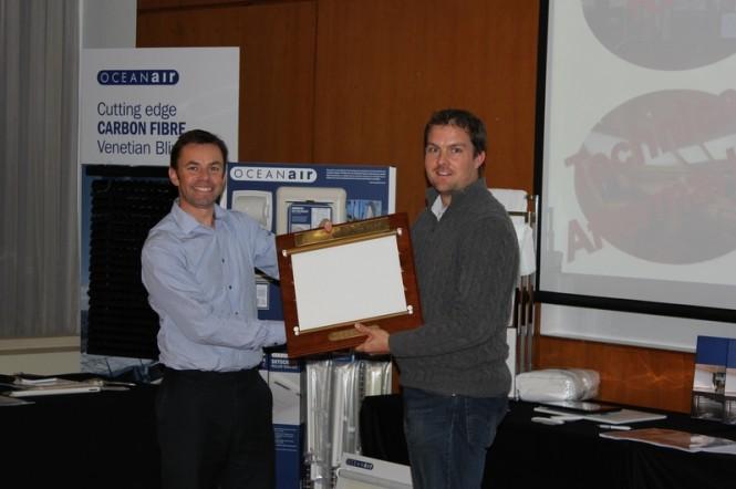 Oceanair award IMP with Distributor of the Year Award 2012