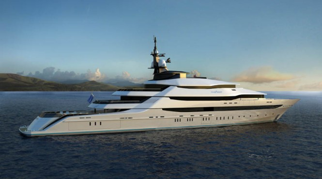 Oceanco luxury Superyacht Y708 - Image credit to Oceanco